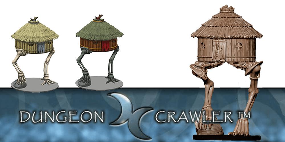 Dungeon Crawler Miniatures: Re-animated, Crowdfunding Baba Yaga's Hut