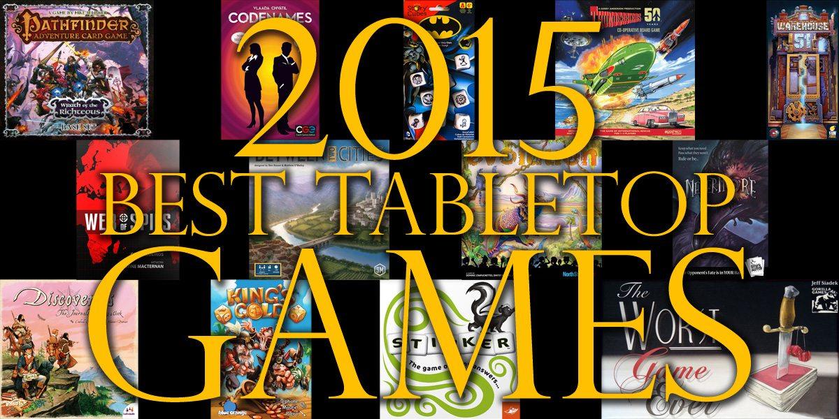 Best Tabletop Games of 2015