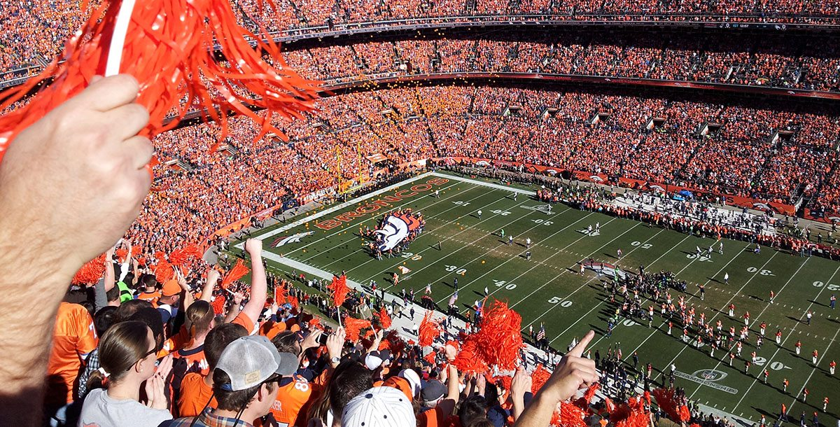 Broncos Fans: Let's Science the Sh*t Out of the Playoffs -or- Sport Science: Sound and the Home Field Advantage