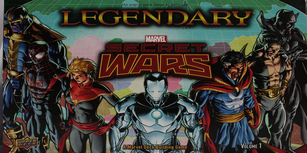 Expand the Marvel Multiverse With 'Legendary: Secret Wars'