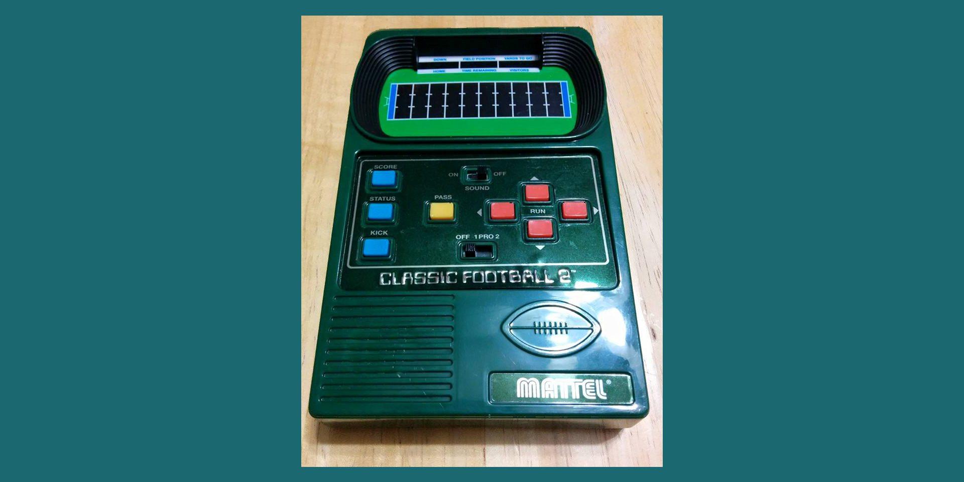 Mattel Football Video Game
