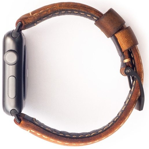 Nomad Strap is available with black hardware