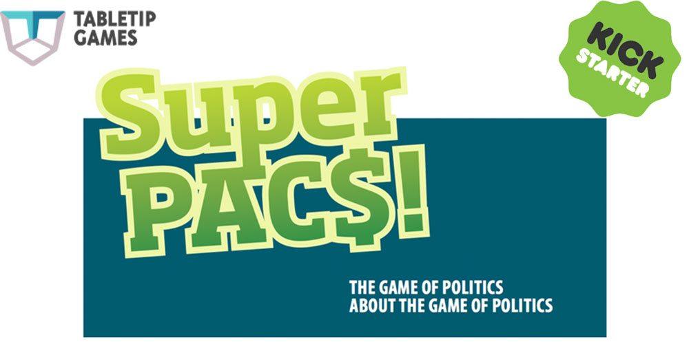 Kickstarter Tabletop Alert: 'SuperPACS' Now Live!