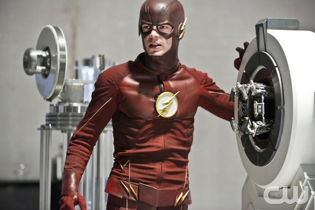 "The Flash -- ""The Reverse Flash Returns"" -- Image FLA211b_0076b -- Pictured: Grant Gustin as The Flash -- Photo: Bettina Strauss/The CW -- �© 2016 The CW Network, LLC. All rights reserved."