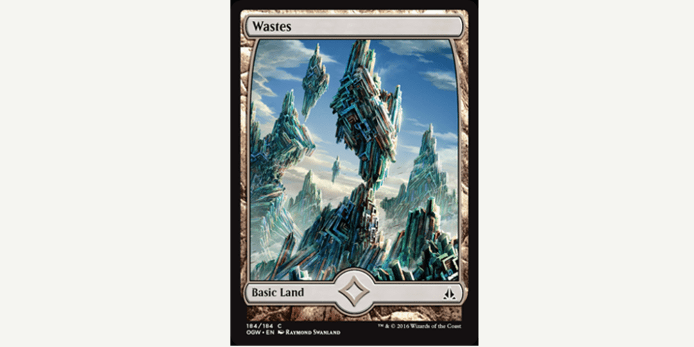 Wastes: Courtesy of WotC