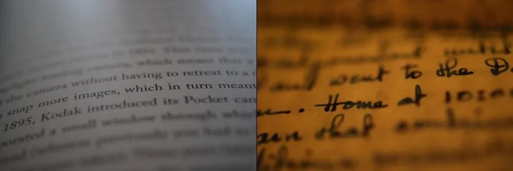 Easily isolate text on a page. Photos: Jenny Bristol