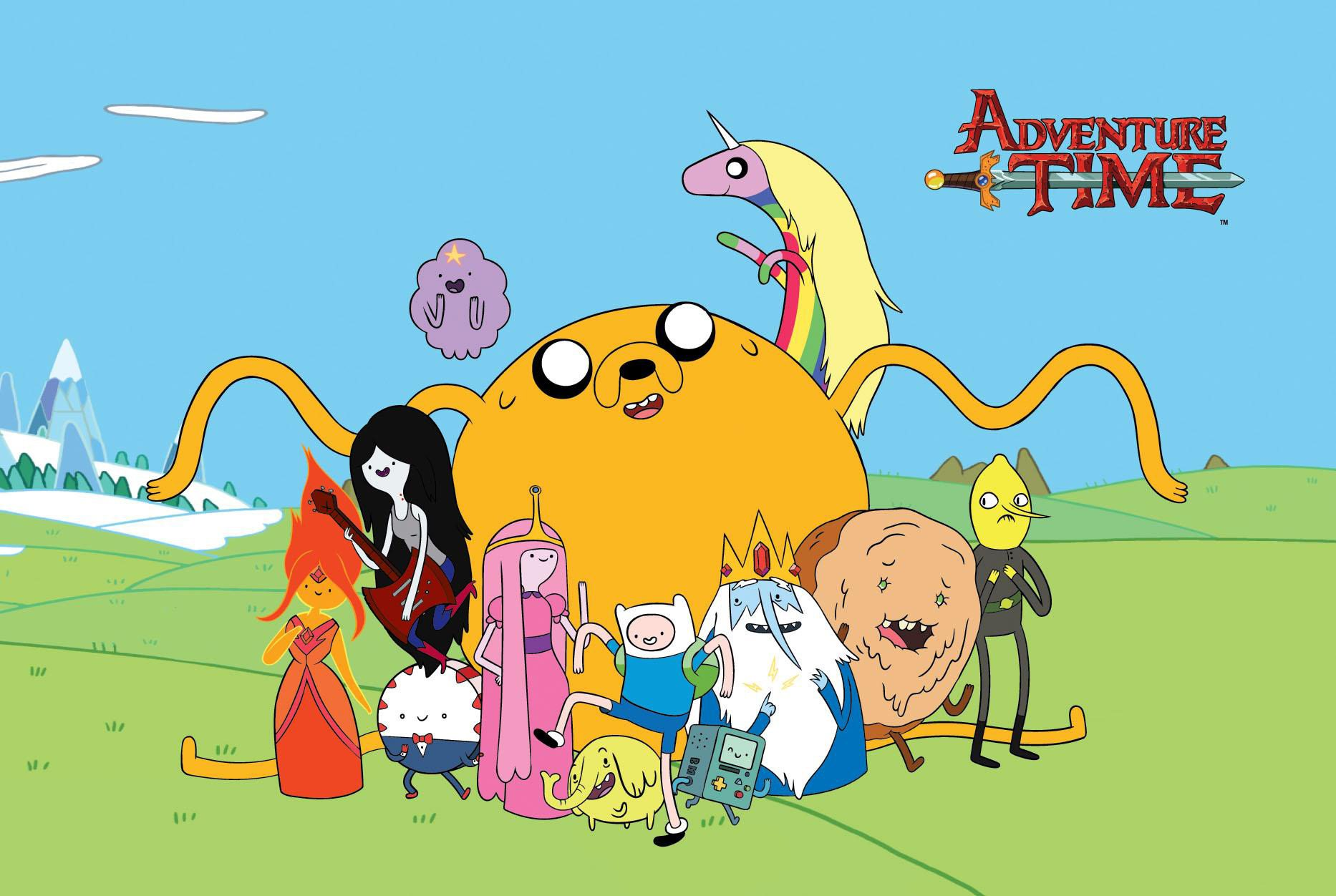 """Adventure Time"" Season 6 is now available to stream on Hulu. (Courtesy of Cartoon Network)"