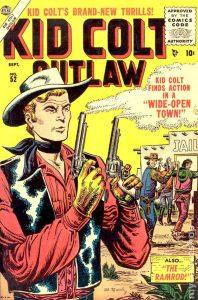 Kid Colt, image via Marvel Comics.