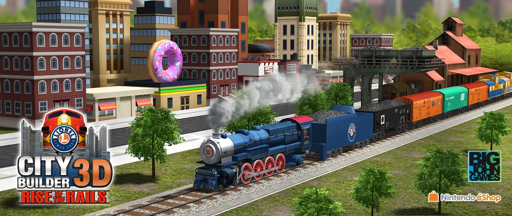 GeekDad Review: 'Lionel City Builder 3D: Rise of the Rails'