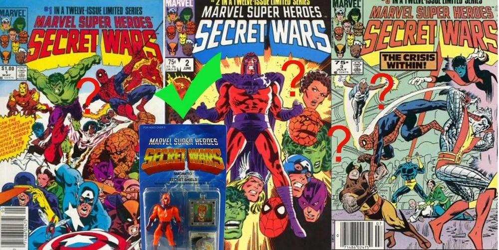 No female action figures in Secret Wars