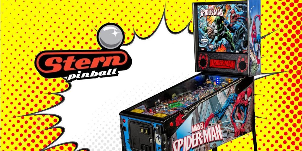 Ultimate Spider-man Pinball Machine by Stern