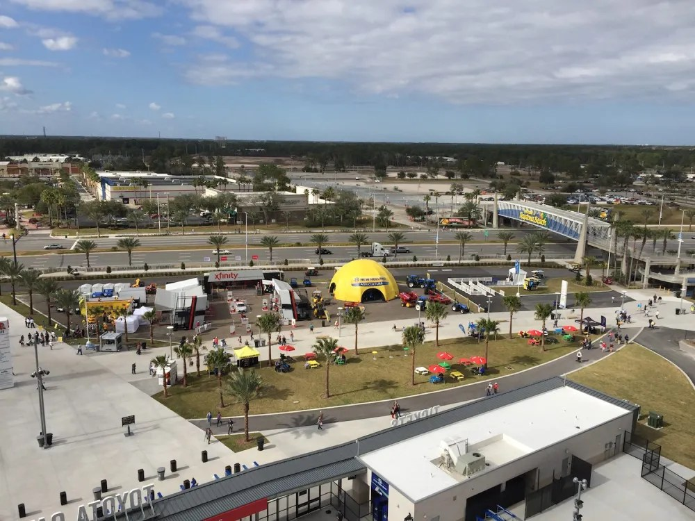 Loose closely and you can see the Daytona One Project has already broken ground. photo by Corrina Lawson