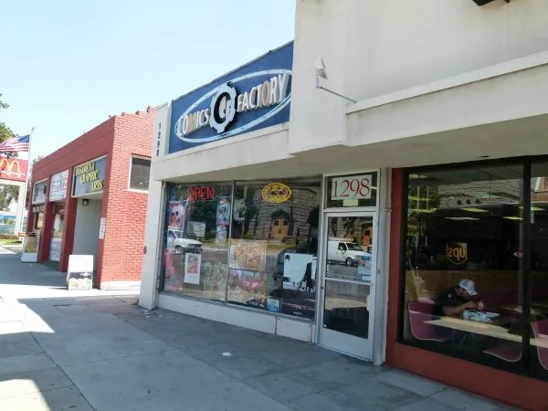 Comics Factory is my favorite comic shop. Tell 'em I sent you.