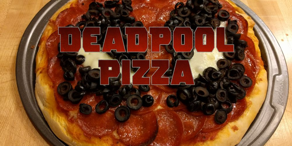 Making a Deadpool Pizza