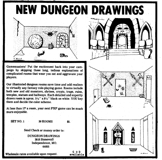 Dungeon Drawings