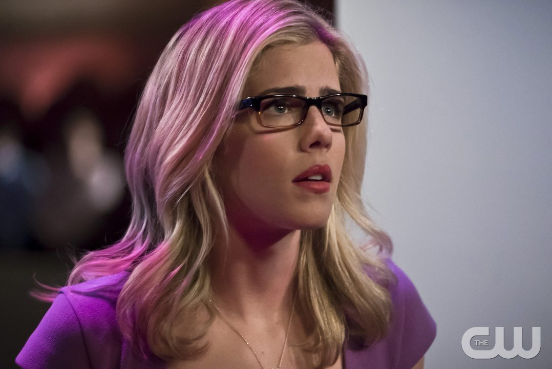 """Arrow -- """"Code of Silence"""" -- Image AR414b_0075b.jpg -- Pictured: Emily Bett Rickards as Felicity Smoak -- Photo: Katie Yu/ The CW -- �© 2016 The CW Network, LLC. All Rights Reserved."""