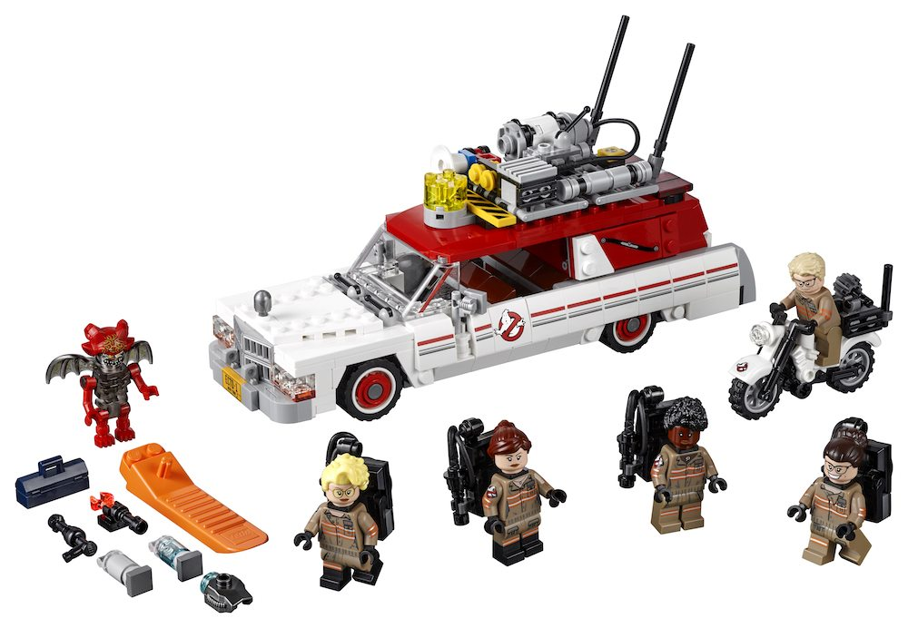 Buildin' Makes Me Feel Good: New 'Ghostbusters' LEGO Ecto-1 Revealed!