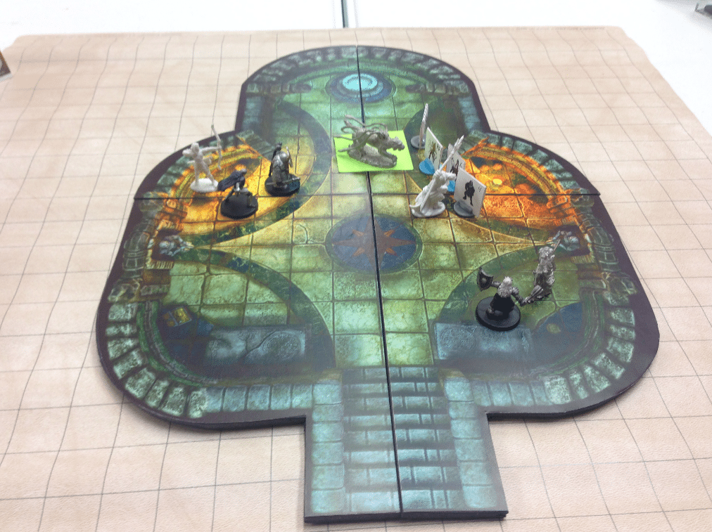 photograph relating to 2d Printable Terrain referred to as Myth RPG 2D Terrain Goods - Previous Display - GeekDad