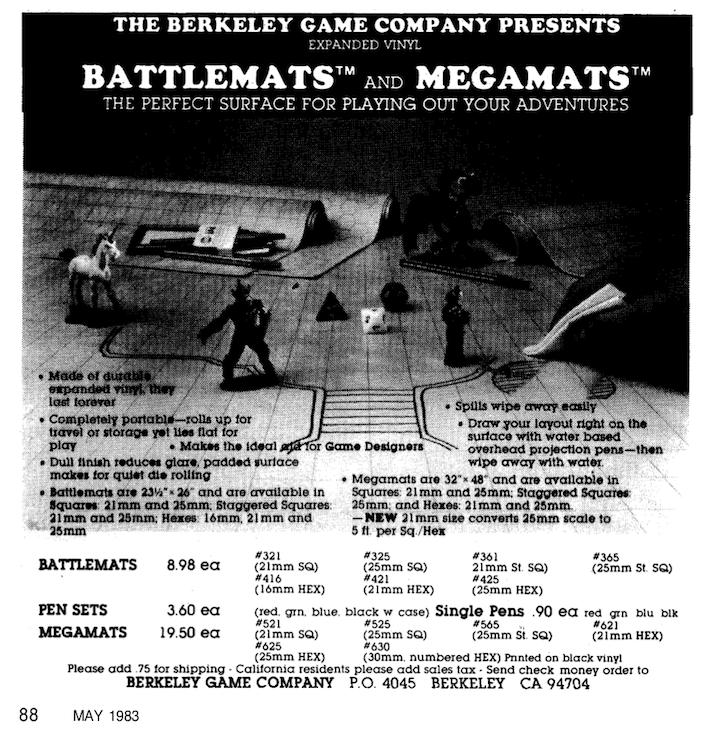 Battlemats Megamats