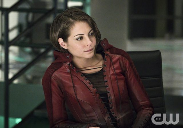 """Arrow -- """"A.W.O.L."""" -- Image AR411A_0299b.jpg -- Pictured: Willa Holland as Thea Queen -- Photo: Liane Hentscher/ The CW -- �© 2016 The CW Network, LLC. All Rights Reserved."""
