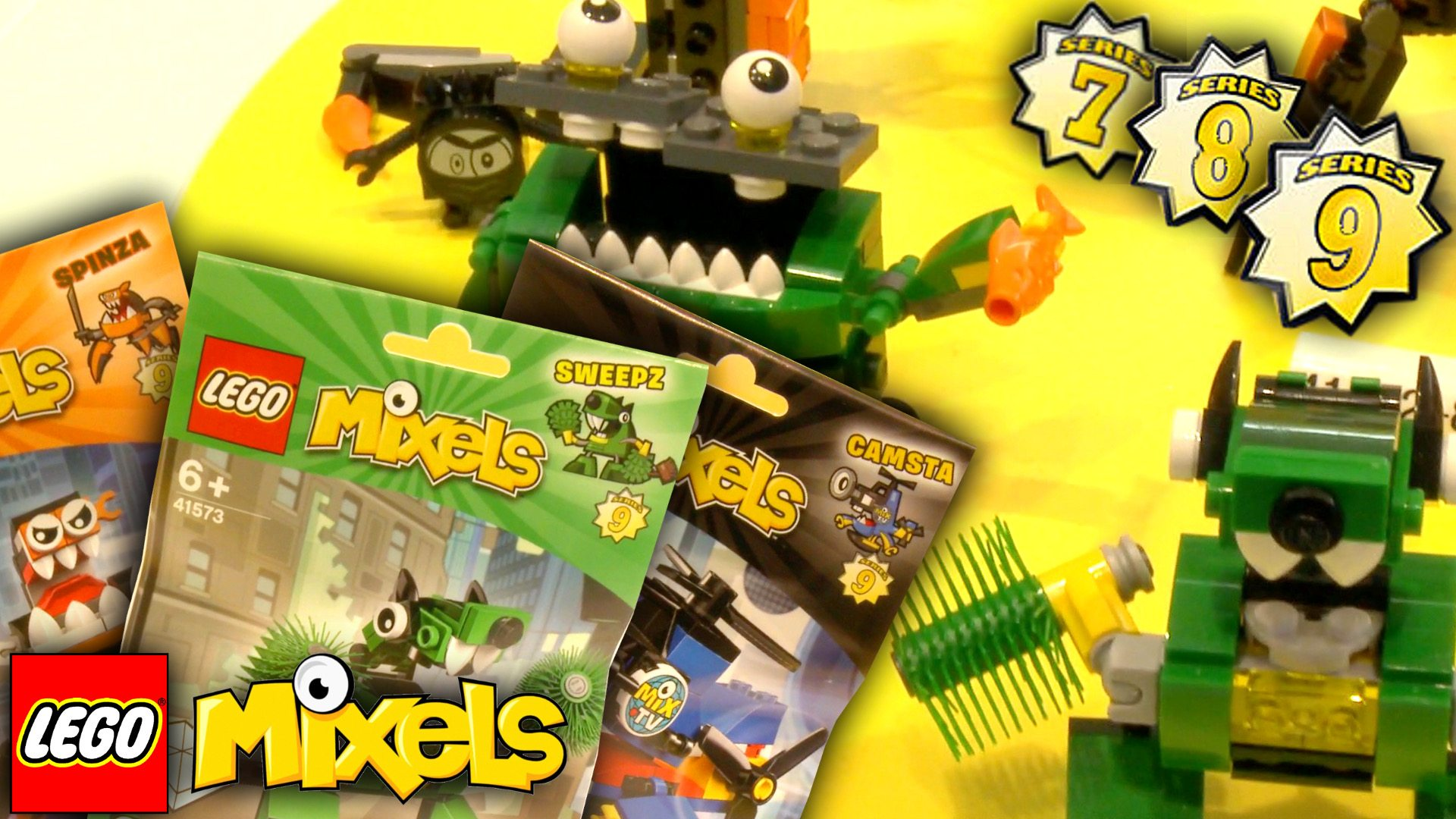 2016 'Lego Mixels' Line-Up Revealed in Full