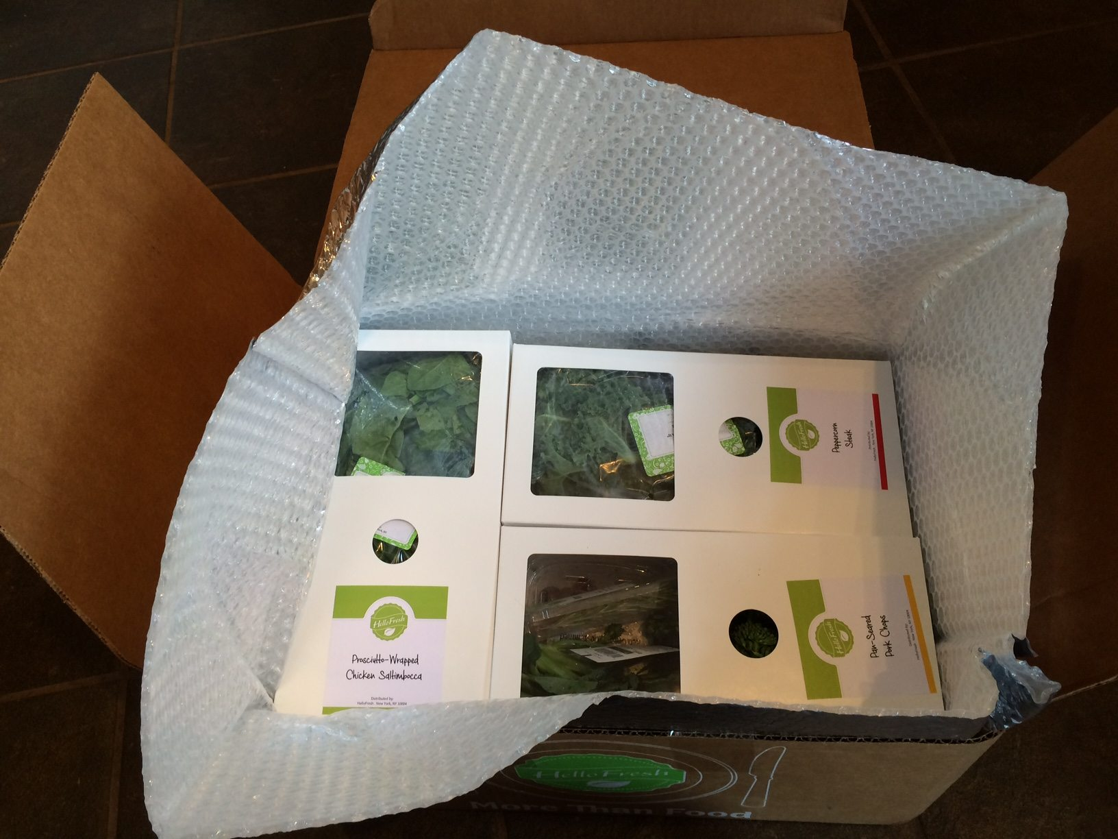 hello fresh review packaging