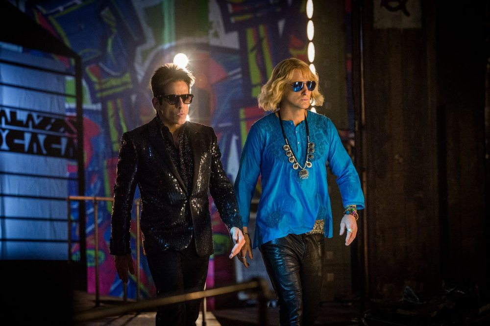 Zoolander (Ben Stiller) and Hansel (Owen Wilson) are back in action in 'Zoolander 2'. © 2015 Paramount