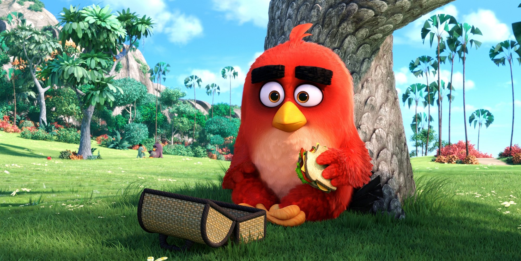 The Angry Birds Hatchlings Send Easter Greetings and Adorableness