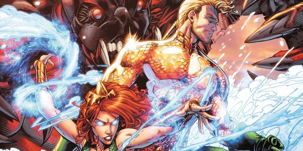 'Aquaman' Hits #50 and 'Batman Eternal' Ends Vol. 2