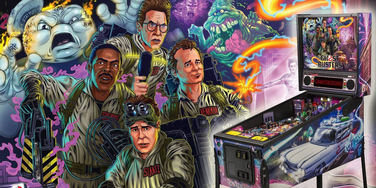 After 32 Years, 'Ghostbusters' Pinball Machine Is Worth the Wait