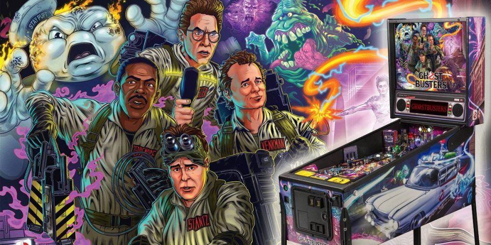 Ghostbusters Pinball Machine