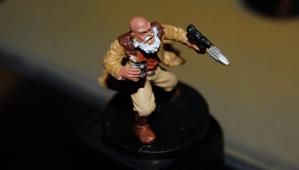 Imperial Assault Heroes Gideon