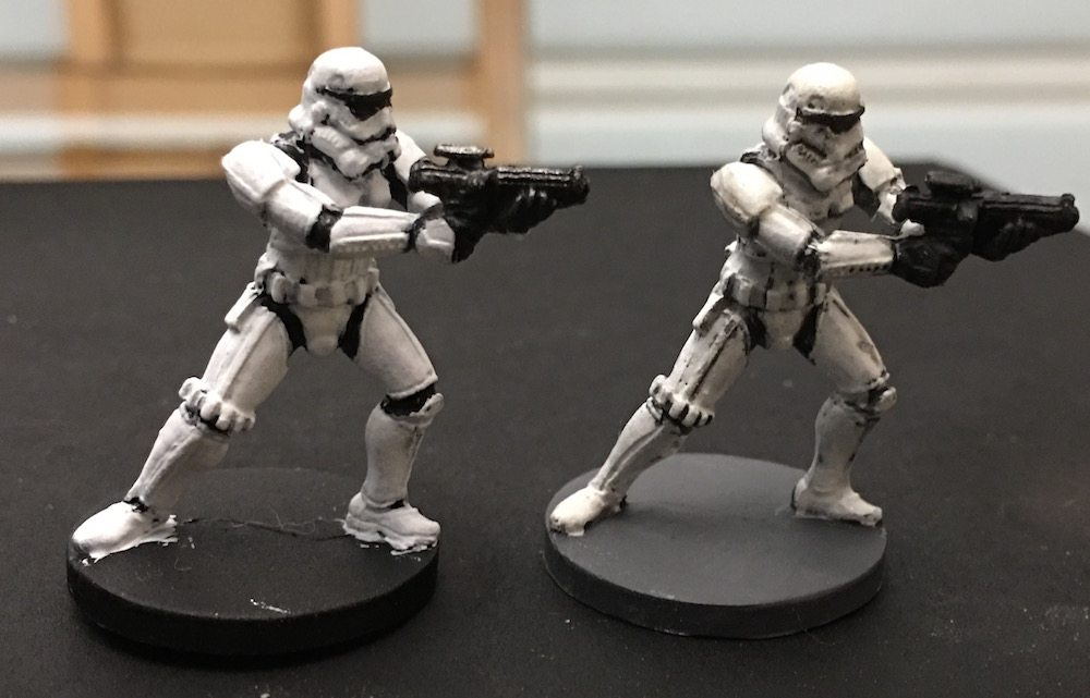 Imperial Assault Stormtroopers Old and New