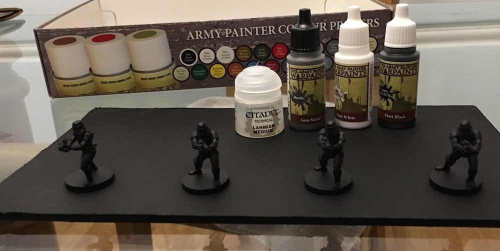 Imperial Assault Stormtroopers Primed