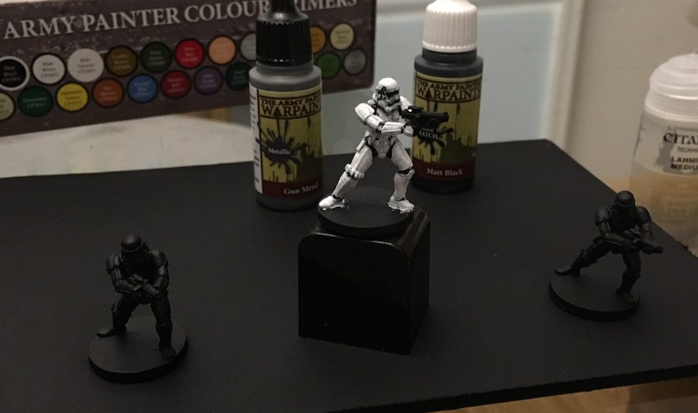 Imperial Assault Stormtroopers Night 1