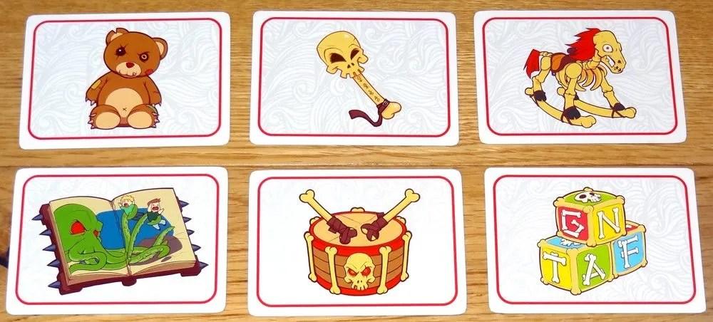 Li'l Cthulhu demand cards