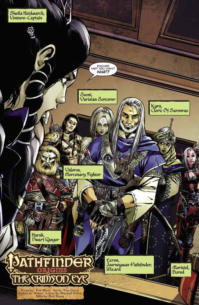 Pathfinder Origins