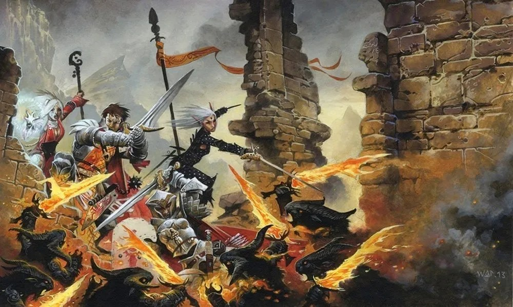 Pathfinder Adventure Card Game Sword of Valor