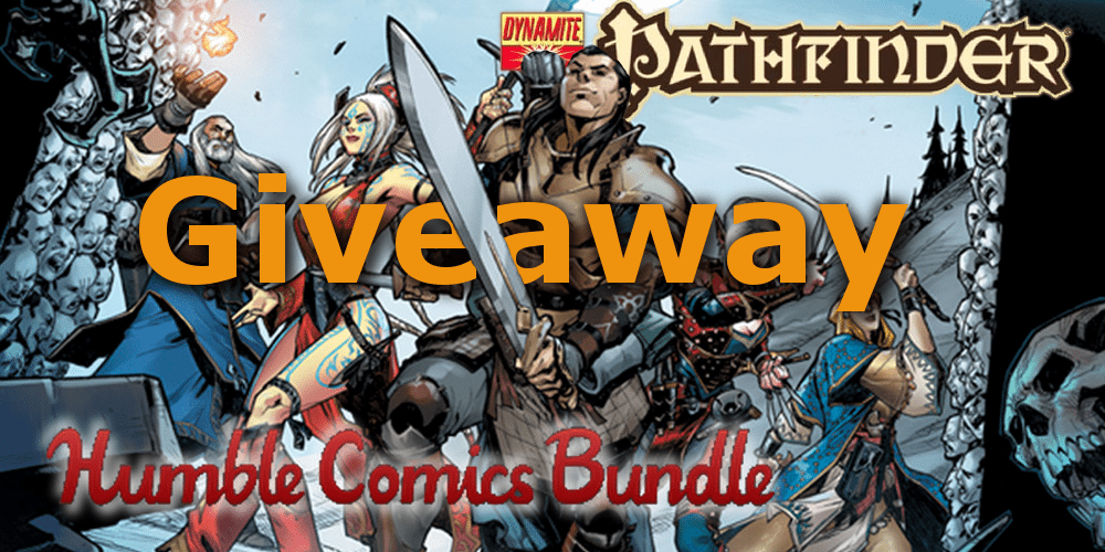 'Pathfinder Comics' Humble Bundle Giveaway!