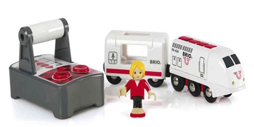 Visit Town and Country with BRIO's Wooden Railway