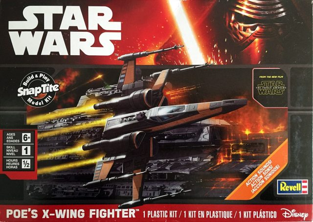 Revell X-Wing Box