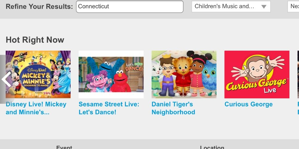 Children's Live Shows: A Survival Guide
