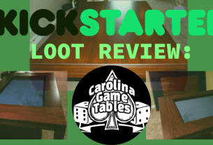 Kickstarter Loot Review Carolina Game Tables