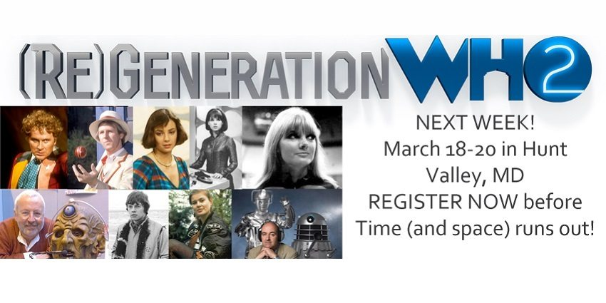 Register for (Re)Generation Who!