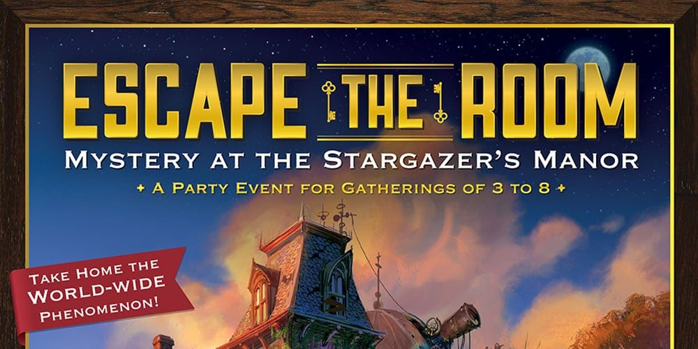 'Escape the Room: Mystery at the Stargazer's Manor'