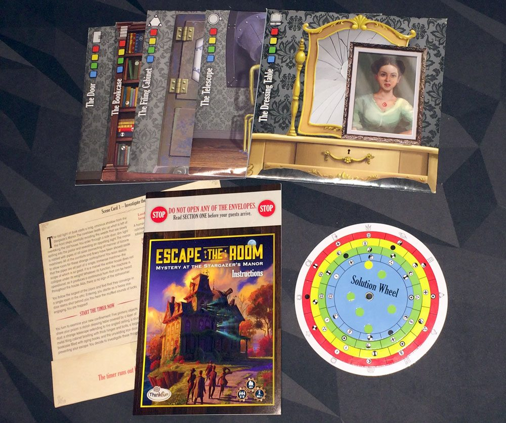 Escape the Room components