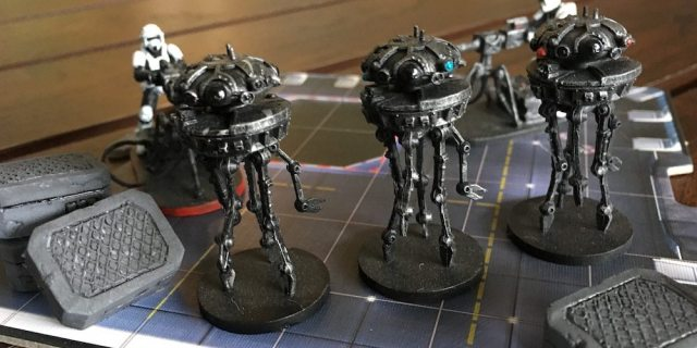 Imperial Assault Probe Droids Finished