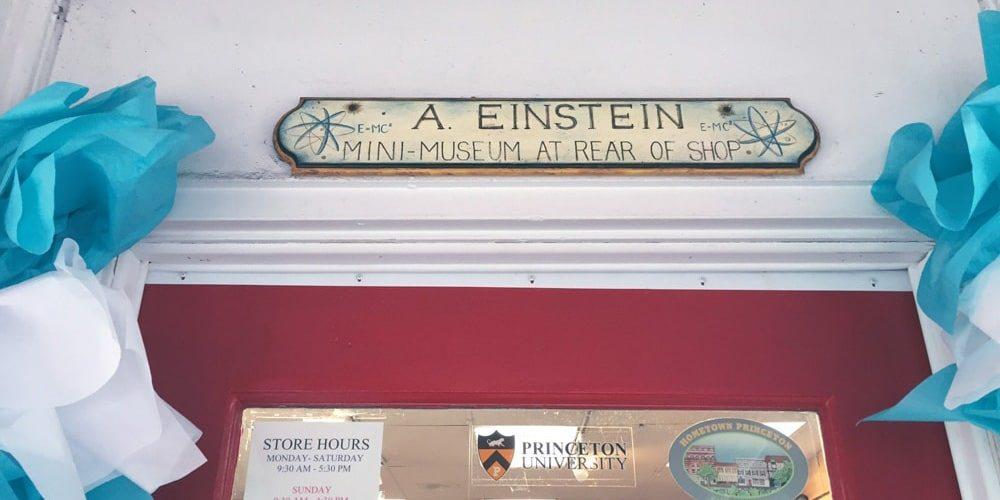 In Search of Einstein? Head to Princeton