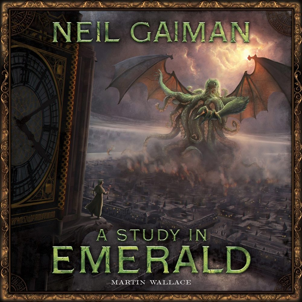 A Study in Emerald cover