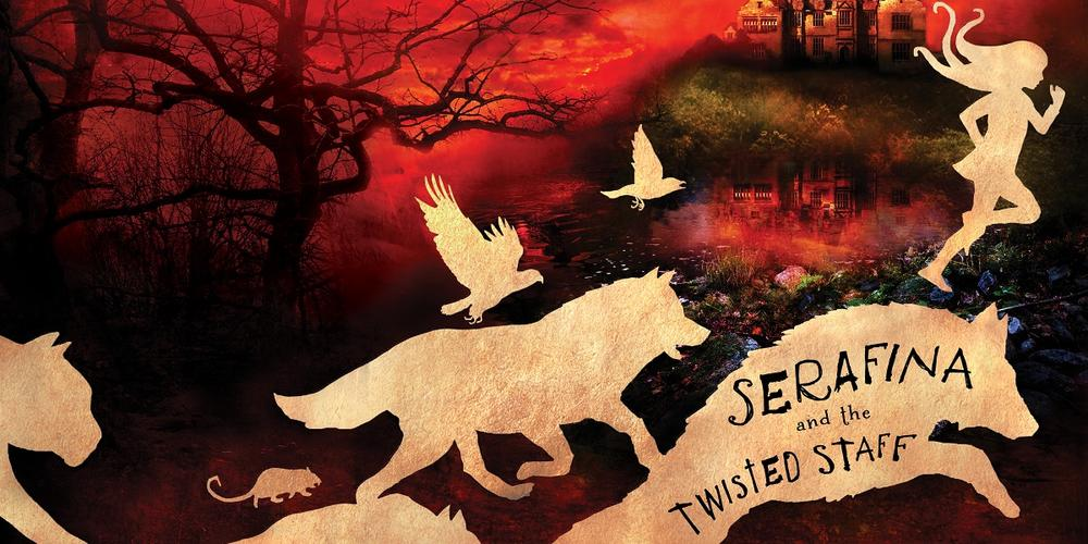 Young Reader Book Review:  'Serafina and the Twisted Staff':